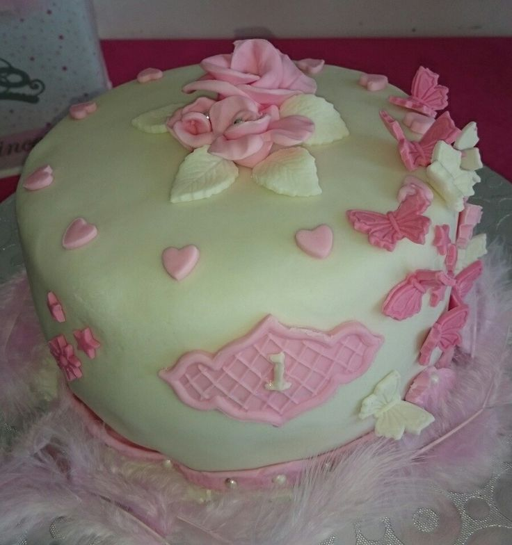 Gâteau 1 an de neyla