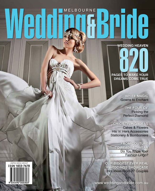 Melbourne Wedding & Bride Front Cover- Jan-2011-Bridal Gown by Ania G. Couture.jpg (650×799)