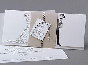 Faire-part mariage M36-020