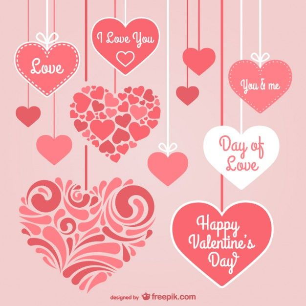valentine's day psd templates free