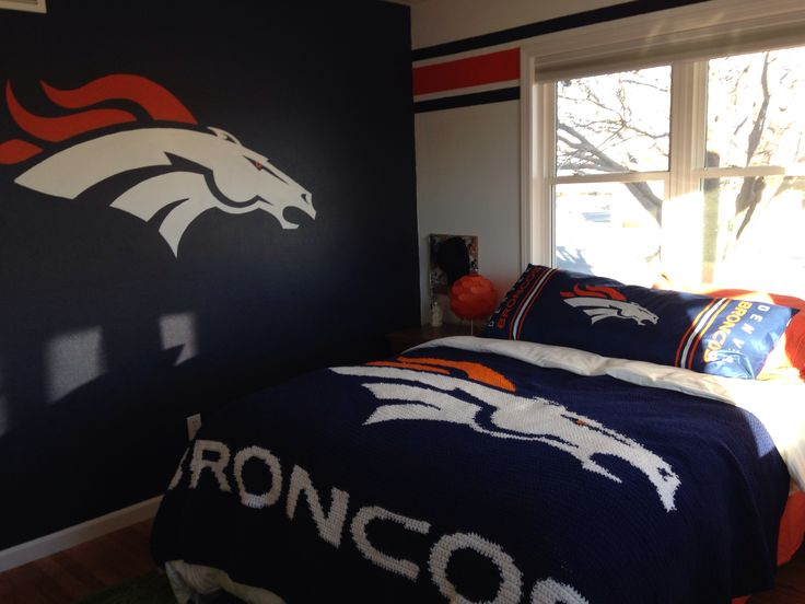Denver Broncos Bedroom Ideas Simple Design