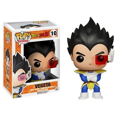 Funko Dragonball Z Pop! Anime Vinyl Collectors Set: Super Saiyan Goku, Vegeta, Piccolo, Final Form Frieza