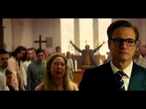 The Kingsman Movie - Church Fight Scene (1080p)