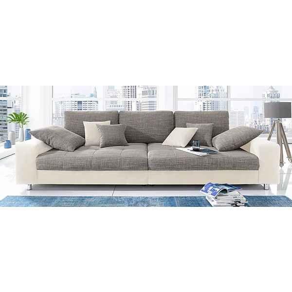 Beautiful Big Sofa wahlweise mit RGB LED Beleuchtung
