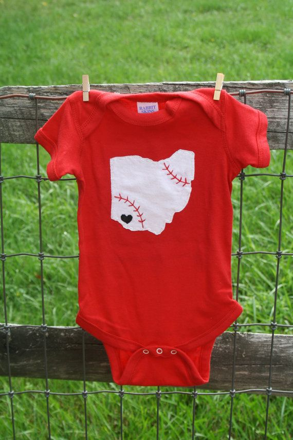 Cincinnati Reds Baseball Reds Baseball Love State of by twinzzshop, $24.00