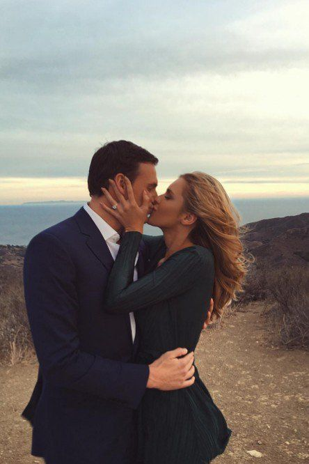Ryan Lochte Gave His Girlfriend the Most Stunning Engagement Ring, So Naturally She Took a Ton of Photos