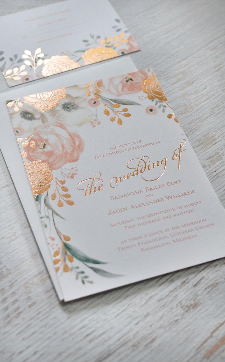 Saia dos tradicionais nomes metalizados e dê brilho ao resto do convite. Não tenha medo de ousar na hora de fazer o convite de casamento. Quanto mais personalidade tiver, melhor!