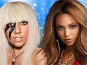 Free Online Girl Games, Help transform these singers using your makeover skills in Hollywood Hall of Fame 3! Give Joe Jonas, Beyonce Knowles and Lady Gaga new clothes, hairstyles, accessories and more!, #beyonce #lady #gaga #dressup #makeover #celebrity #famous #girl #fashion