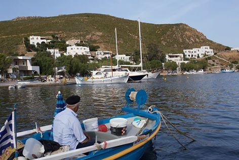 The authenticity of Grikos. | #patmos #plefsis #grikos #grikosbay