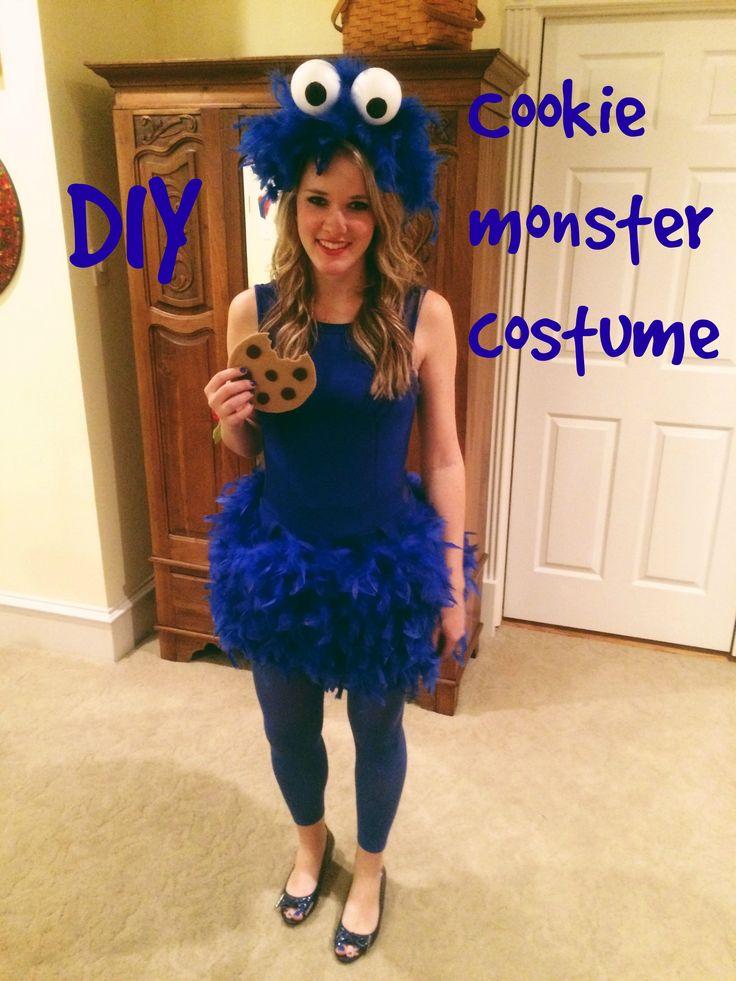 diy cookie monster costume - Puck Bunny Halloween Costume