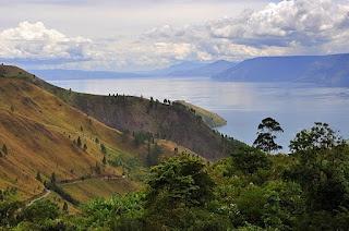The Beauty Toba Lake in North Sumatra - Indonesia