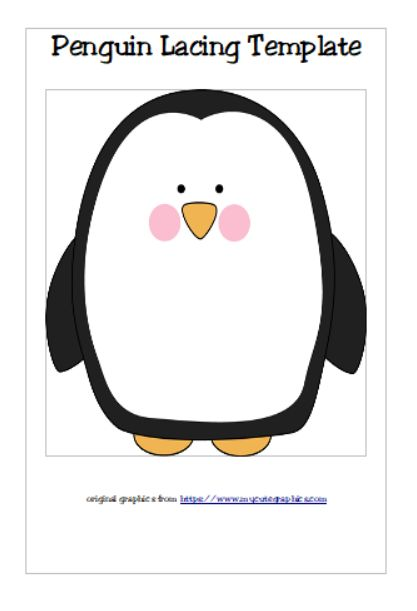 170 best Zoo\/Animals theme images on Pinterest - penguin template