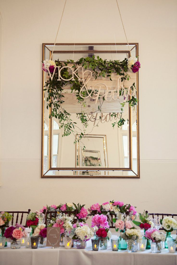 Our gorgeous mirrors dressed up by The Style Co