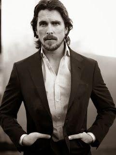 #boysboysboys Christian Bale..... 18 kinds of crazy, but he's hot