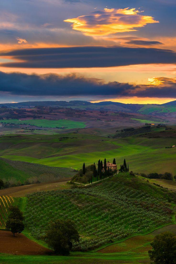 Val d'Orcia Region, Tuscany, Italy