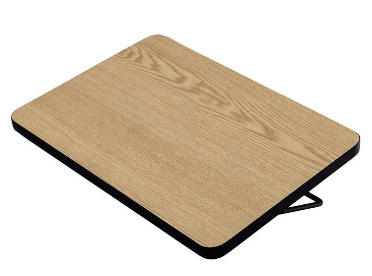 essentials besley table de chevet suspendre noyer et. Black Bedroom Furniture Sets. Home Design Ideas