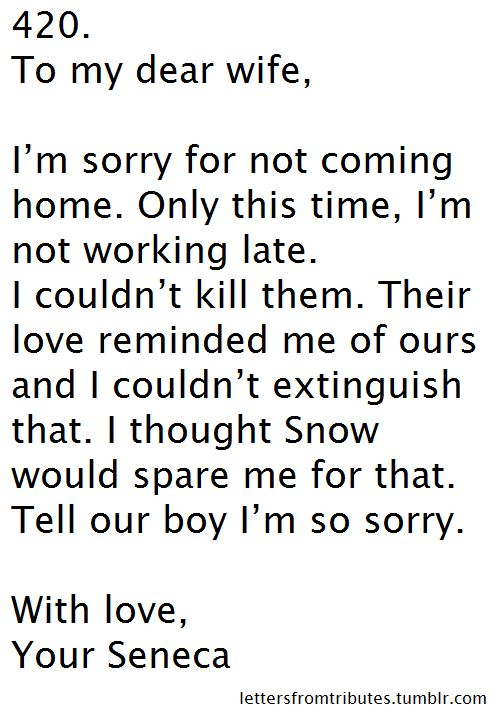Apology Letters Love Valentine For