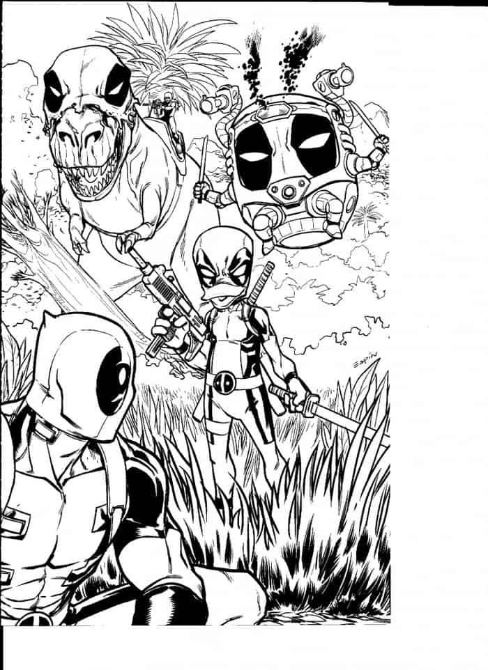 Hard Coloring Pages Of Deadpool In 2020 Coloring Contest Cute Coloring Pages Coloring Pages