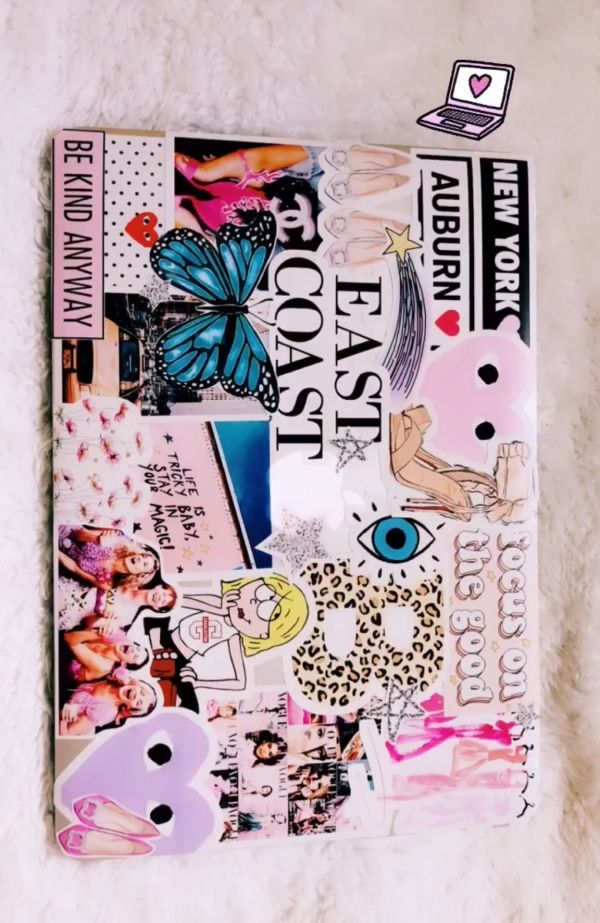 Beccadipaolo Cute Laptop Stickers Laptop Decoration Case Stickers