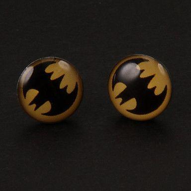 Dulce+Batman+Pendientes+de+plata+de+la+aleación+(1+par)+–+EUR+€+1.95