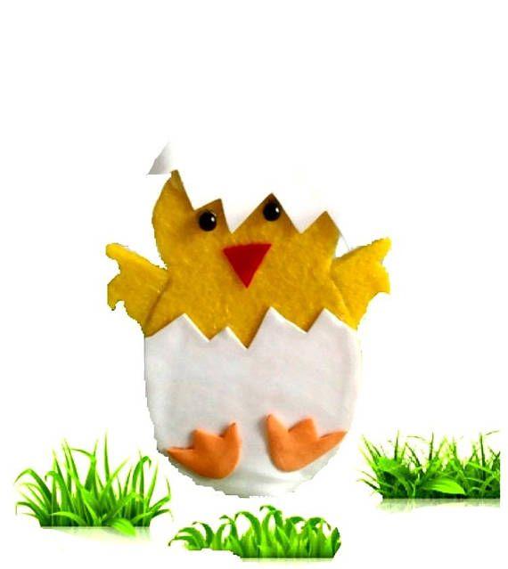 Easter sale Easter chicken 6 set Easter table decor Spring
