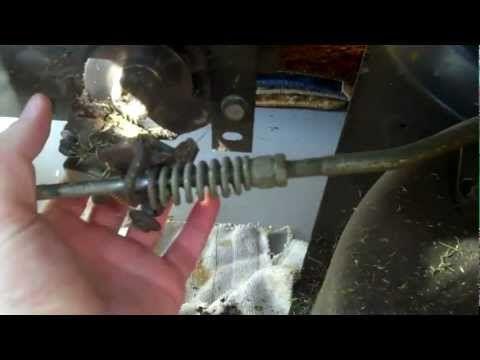 Brake Amp Clutch Maintenance On Craftsman Lawn Tractor