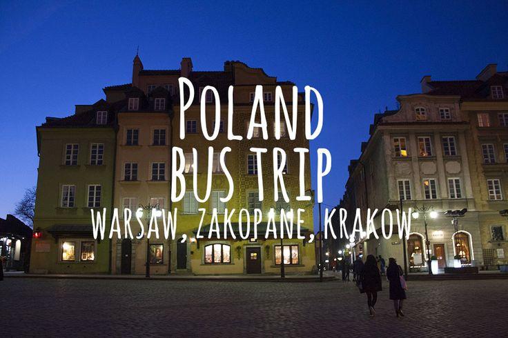 Discover Poland: Warsaw, Zakopane, Krakow. Info, photos, map