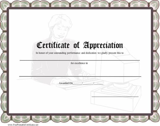 25 best ideas about Certificate Of Appreciation – Military Certificate Templates