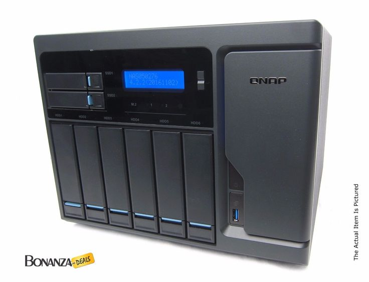 QNAP TVS-882-I5-16G 8-Bay SAN / NAS Server - Intel i5-6500 16GB RAM   NO HDD