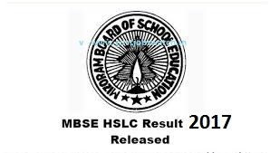 Download HSLC Result of MBSE Board of Mizoram here Mizoram 10th Result 2017, Mizoram HSLC Result 2017 - www.mbse.edu.in, Mizoram Board 10th Toppers List