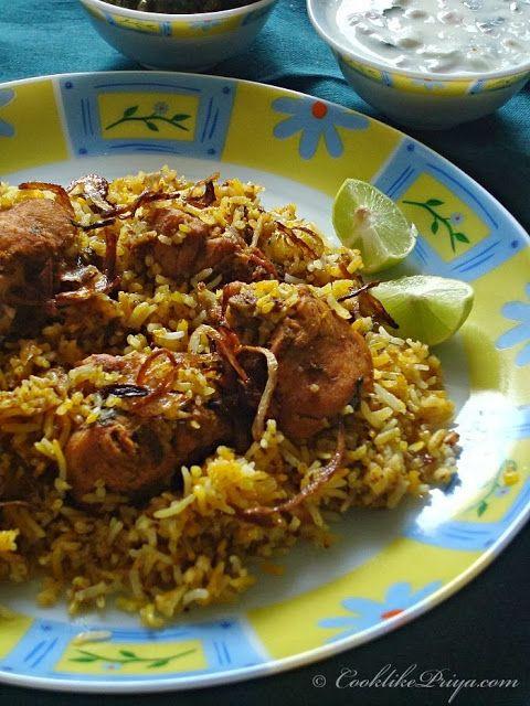 Cook like Priya: Restaurant Style Hyderabadi Chicken Biryani | Easy Chicken Biryani Recipe