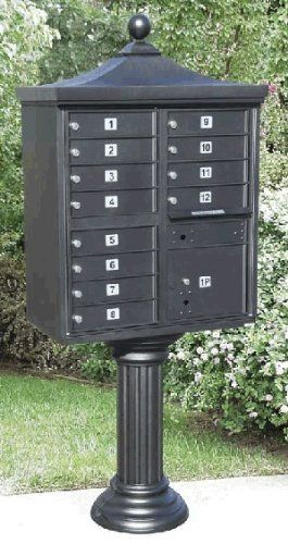 Qualarc Regency Cluster Mailbox Accessories by QualArc. $950.00. Qualarc Regency Cluster Mailbox Accessories