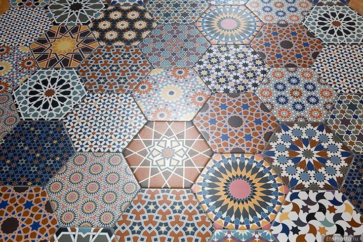 Шестиугольная плитка Realonda