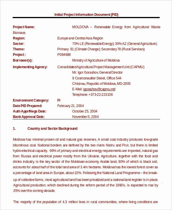Free Grant Proposal Template In 2020 Business Proposal Template