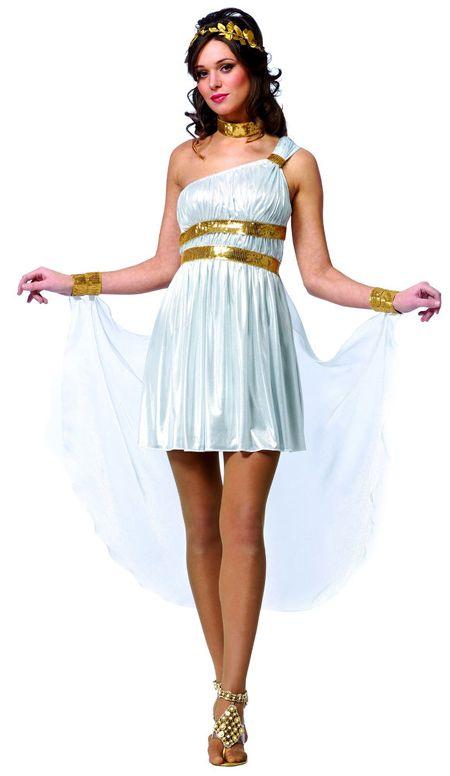 Как быстро и просто сделать костюм греческой богини