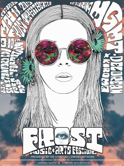 Poster for Frost Music and Arts Festival