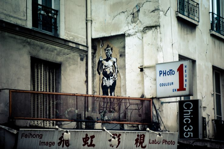 Rue des Couronnes - #streetart #Paris Quartiere Belleville - Scopri di più su questa zona di #Parigi http://viviparigi.it/quartieri-parigi/belleville-menilmontant-parigi-cosmopolita.html