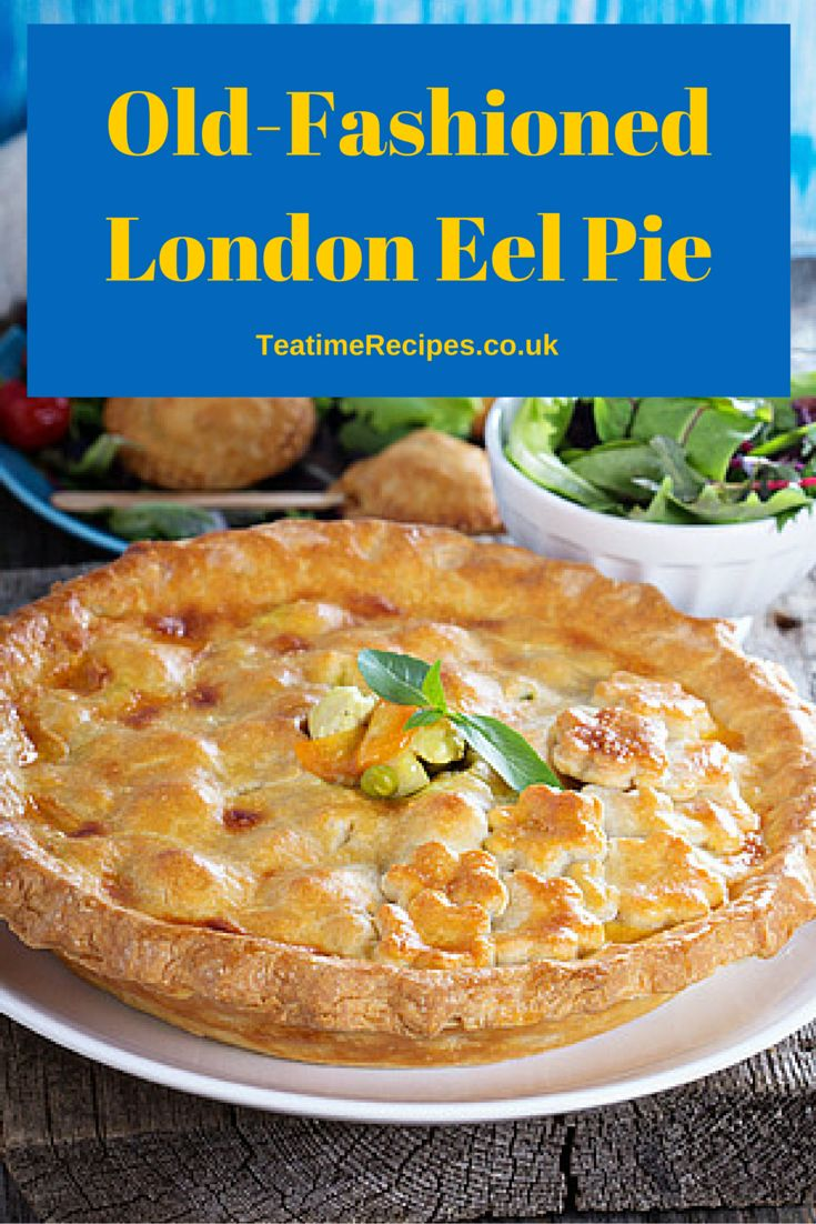 This recipe is hundreds of years old and such fun to prepare! We are using eels, raisins, onions, ginger and pastry to make a typical London style eel pie.