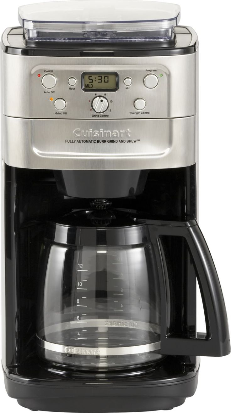170 cuisinart grind and brew 12cup coffee maker in