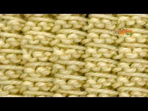 Cómo Tejer ENCAJE DIAGONAL- Diagonal Lace - 2 agujas (380) - YouTube