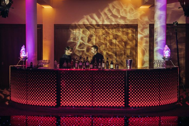 A bar like no other! Our LED Dynamo Bar is sure to be a great focal feature at your Corporate Event.