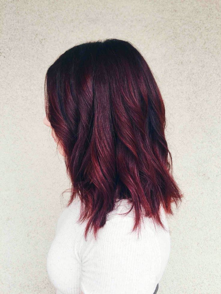 Cherry Coke hair color                                                       …