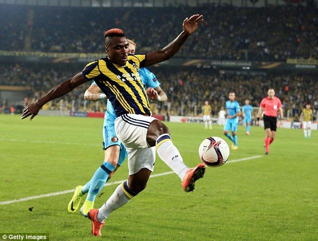 Emmanuel Emenike's explosive pace and power could cause Manchester United problems