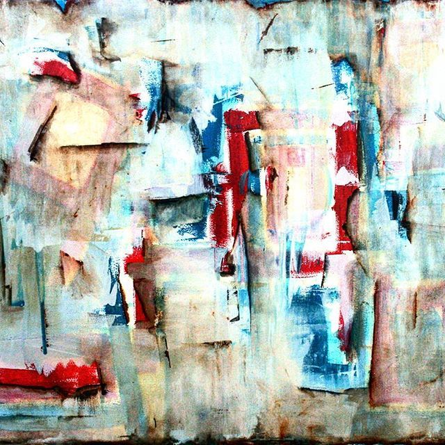 @josefinakunstler #voyeur what is #hidden behind #layers #painting #brushstrokes #expressionism #art #arte #arteabstracto #artebogota