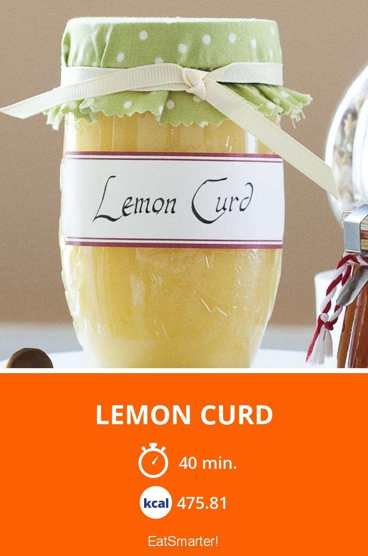 Lecker, lecker Lemon Curd.