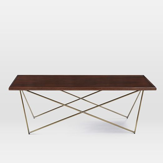 Superb Updating Traditional Wood With A Modern Geometric Base, The Waldorf Coffee  Table Is Fanciful Without Being Too Fancy, Adding Sculptural Detail To Your  ...