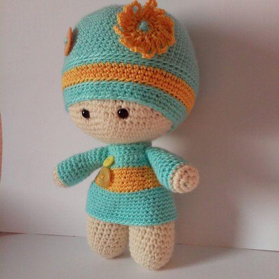 Crochet doll by KattiiCrochet on Etsy