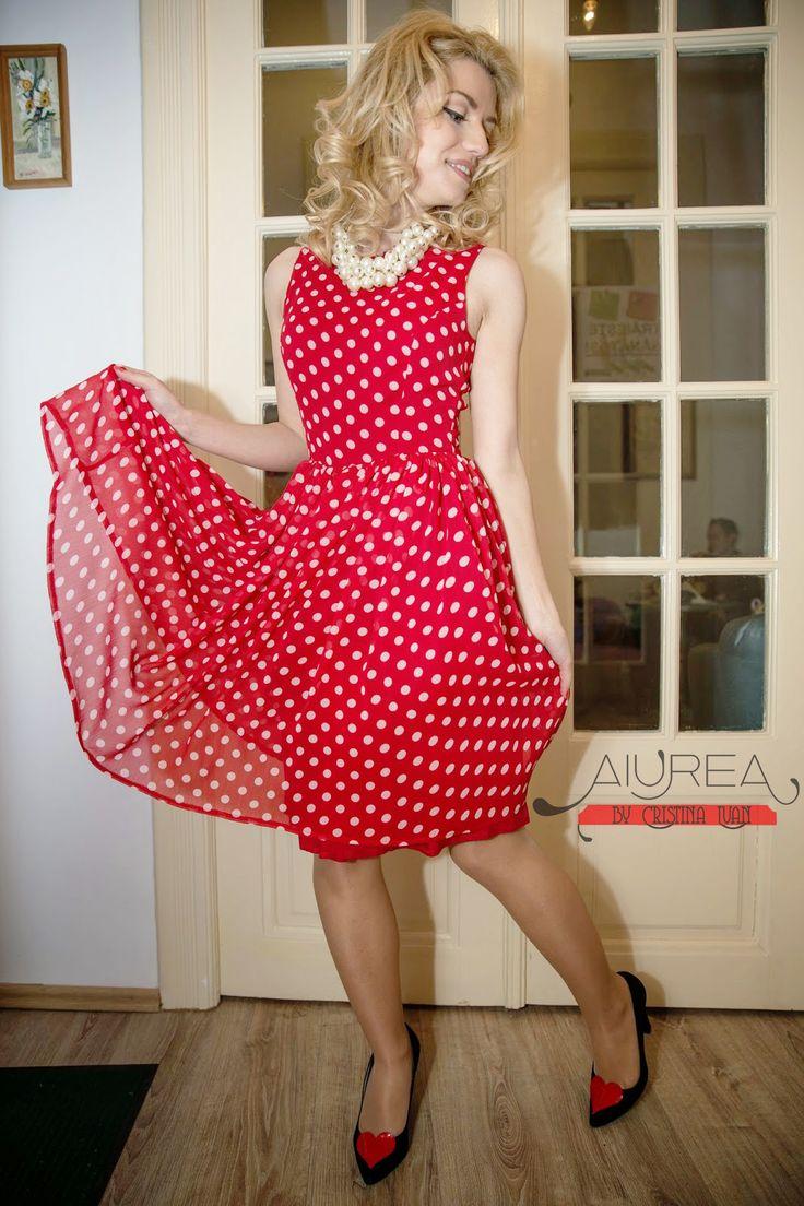 rochie cu buline