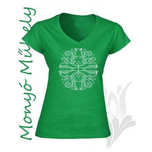 Mezőcsáti póló Zöld