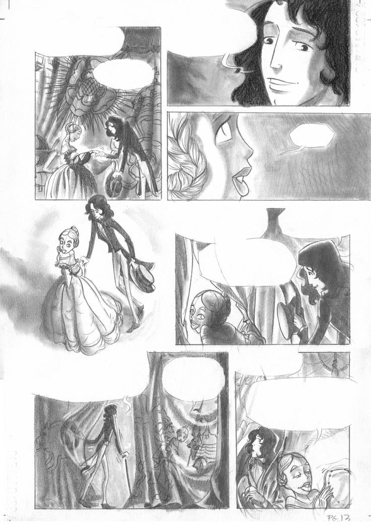 Pagina13 c1: lápiz de grafito sobre papel caballo Dina3: 300 € David Belmonte ©